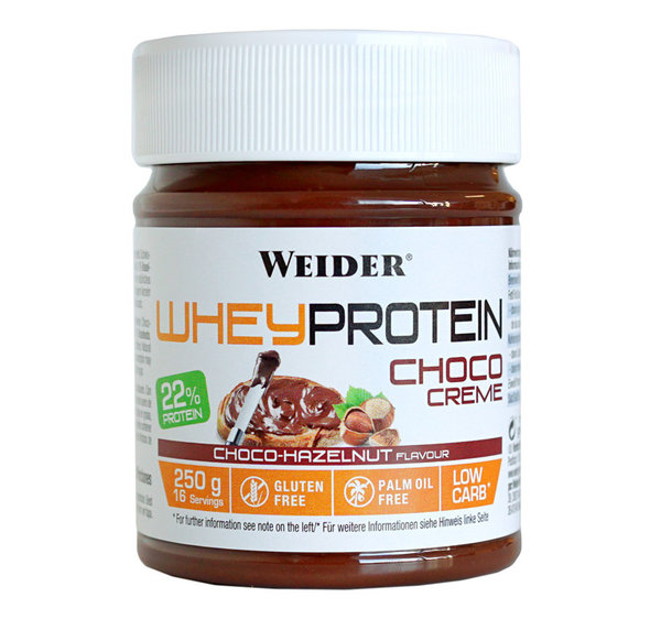 Nutella Weider Choco Cream (chocolate-avellanas)